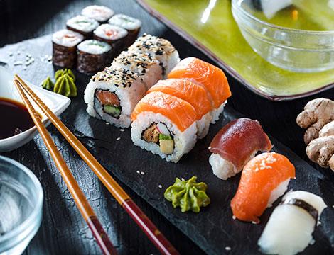 Virus Cina sushi